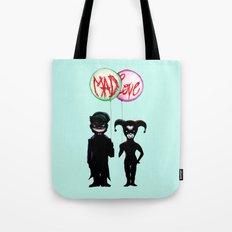 Clown & Quinn Balloons Mad Love Tote Bag