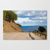 Beautiful Walk 6325 Canvas Print