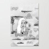 Blancontrol Canvas Print