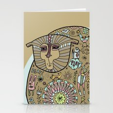 Hunched Bear Stationery Cards
