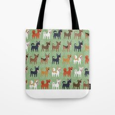 Formosan Mountain Dogs Tote Bag