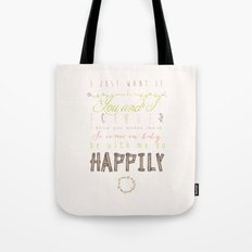 One Direction: Happily Tote Bag
