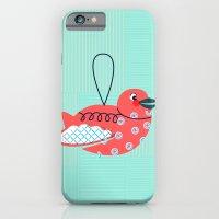 Robin Ornament iPhone 6 Slim Case