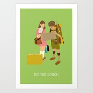 Art Print featuring Moonrise Kingdom by Live It Up