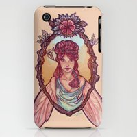 iPhone 3Gs & iPhone 3G Cases featuring Fairy by Dralamy