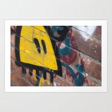 Berlin Graffiti Art Print