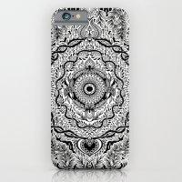 Rain In The Garden - Bla… iPhone 6 Slim Case
