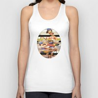 Glitch Pin-Up Redux: Gwe… Unisex Tank Top