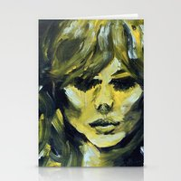 THE YELLOW QUICK PORTRAI… Stationery Cards