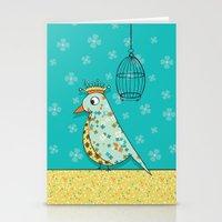 Tweedle De De Stationery Cards