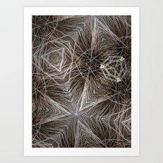 Wire Web Art Print