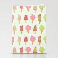 Ice Cream!!!  Stationery Cards