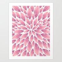 Petal Burst #10 Art Print