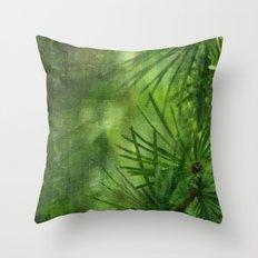 Mélèze Throw Pillow