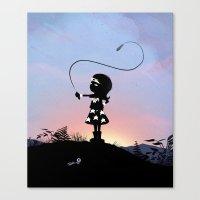 Wonder Kid Canvas Print