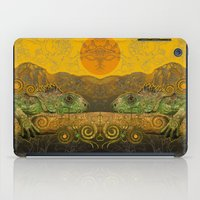 Just Chilling and Dreaming...(Lizard) iPad Case