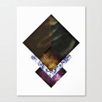 Nebula Life Canvas Print