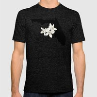 Florida Silhouette Mens Fitted Tee Tri-Black SMALL
