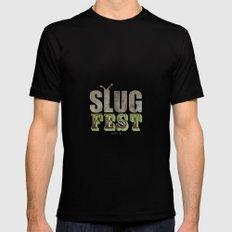 Slug Fest - slacker tee Mens Fitted Tee Black SMALL