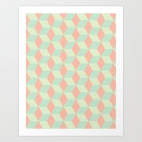 Patterns on Patterns Art Print