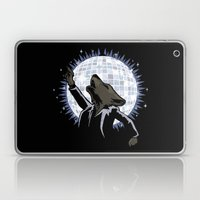 Howling at the Disco Moon Laptop & iPad Skin