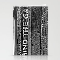 Mind The Gap- Monochrome… Stationery Cards