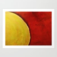 The Sun Beats Down Art Print