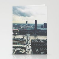 London Below  Stationery Cards