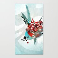 Búsqueda Canvas Print