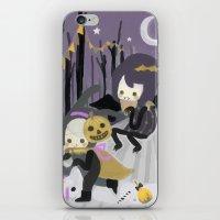 Halloween Walk iPhone & iPod Skin