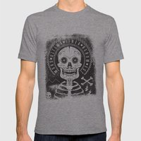 Mors Mens Fitted Tee Tri-Grey SMALL