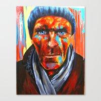 Éludé Au Fond D'un Cou… Canvas Print