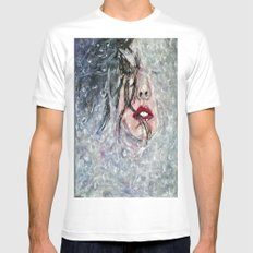 SOUS L'EAU SMALL White Mens Fitted Tee