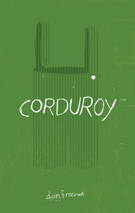 CORDUROY by Don Freeman : Book Cover Re-Design Art Print