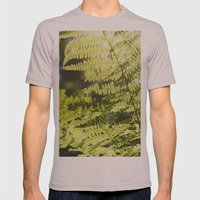 Sun Leaf Mens Fitted Tee Cinder SMALL