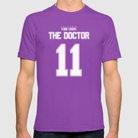 Team Smith Mens Fitted Tee Ultraviolet SMALL