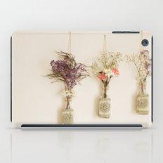 hanging flowers iPad Case