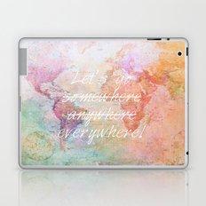 Let's Go Everywhere Laptop & iPad Skin