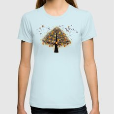 TREE OF KNOWLEDGE - 224 Womens Fitted Tee Light Blue SMALL