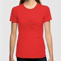 [baby Boy] - Nadya 3 Yr Womens Fitted Tee Red SMALL