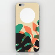 Jungle Sun #1 iPhone & iPod Skin