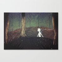 The Paper Forest Canvas Print