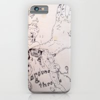 over around under and through iPhone 6 Slim Case