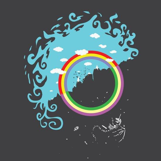 somewhere under the rainbow Canvas Print