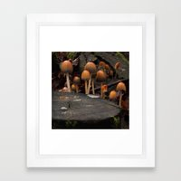 The Knights of the Round Table Framed Art Print