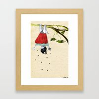 sterntaler Framed Art Print