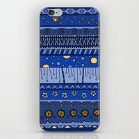 Yzor pattern 010 night iPhone & iPod Skin