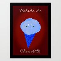 helado Art Print