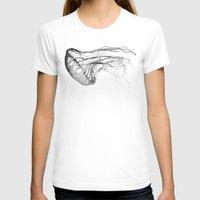 fish T-shirts featuring Medusozoa by Edward Blake Edwards