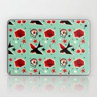 Swallow The Cherry Laptop & iPad Skin